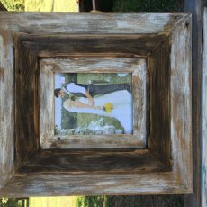Distressed 8x10 Picture Frame