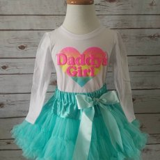 Daddy's Girl Pettiskirt Outfit