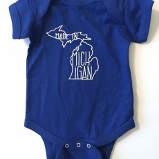 Infant onesie one piece Made In Michigan - Awesome Baby Shower Gift