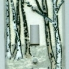 Birches switchplate