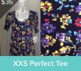 LuLaRoe Perfect T Size XXS-5