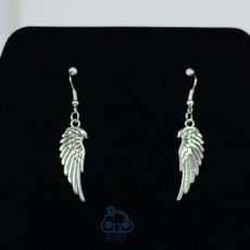 Angel wing or rose wing earrings