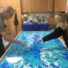 The Art of Water Marbling as a Business - ONLINE