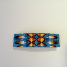 Beaded Hairclip