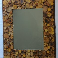 Rustic Mirror (Square)