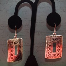 Antique Silver Earring