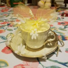 Organic Soy Wax Teacup Candles