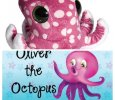Oliver the Octopus Book & Octopus Plush Toy