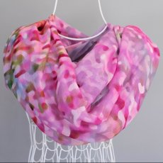 Scarf Wrap in Pink Wilflower Design