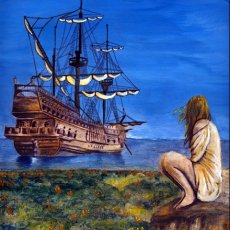 Girl with Ship