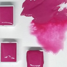 Aquanut Professional Handcrafted Watercolors -Hot Pink -Hal Pan