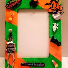 Halloween Decorated Picture Frame