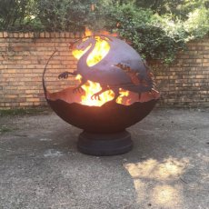 "37"" Fire Pit - DRAGON FURY"
