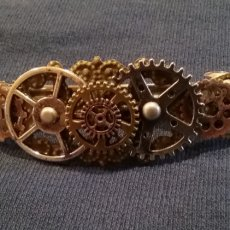 Steampunk Hair Barrette Clip