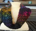 Hand Knit Cowl, Hand Knit Infinity, Knit Cowl, Hand Knit Scarf, Gifts for Women
