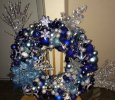 I'll Have A Blue Christmas Wreath