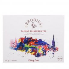FAMOUS EDINBURGH TEA BAGS 100