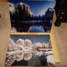 8x10 metal photos