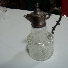 Depression glass carafe