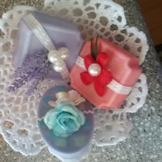 Hand Decorated Body Soaps