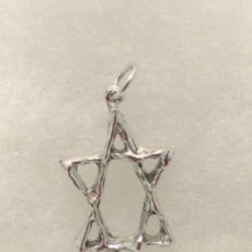 Jewish star in sterling silvet