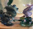 Diversity of Sea Life Borosilicate Glass Sculpture