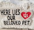 Pet Memorial stones customized