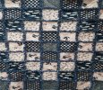 Navy and Blush Rag Quilt