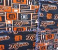 Detroit Tigers Themed Rag Quilt