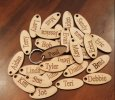 Oval Personalized Keychain
