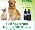 UltraCell Full Spectrum Hemp CBD-Berry or Lemon