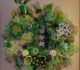 Beautiful St. Patrick Day Wreath