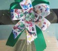 """Mario Brothers"" Handmade Ribbon Bow on Headband"