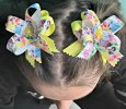 Disney Princess's set of 2 Handmade Ribbon Bow's