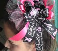 """Ballet Keeps Me On My Toes"" Handmade Ribbon Bow"