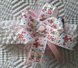 """Happy Easter"" Multi-Color Ribbon Bow on Stretch Infant Wrap"