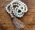 Moonstone with tassel necklace