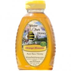 Orange Blossom Pure Raw Honey 16oz