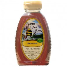 Sourwood Honey Pure Raw 16oz