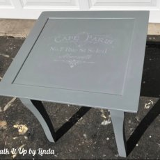 "Charming ""Paris"" Accent Table"