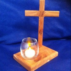 Cross Candle Holder