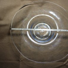 Blown glass plate