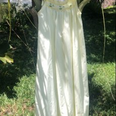 Hand Smocked Ribbon Tie Night Gown
