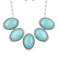 "Turquoise and Silver ""Prairie Goddess"""