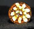 Yellow Cane Flower Marble