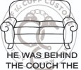 Jesus couch car decal