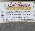 Cool bamboo sheets/full size