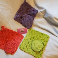 Dishcloth/scrubbie sets