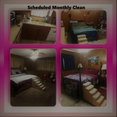 Scheduled Cleaning 3 Bedrooms