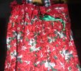 Poinsettias drawstring bag